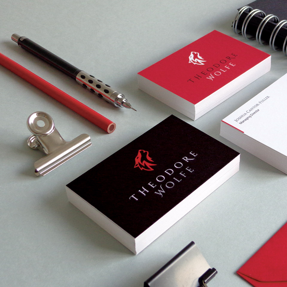new logo and stationery quote