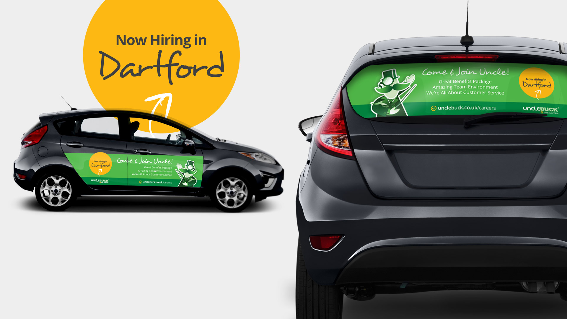 car wrap advert design