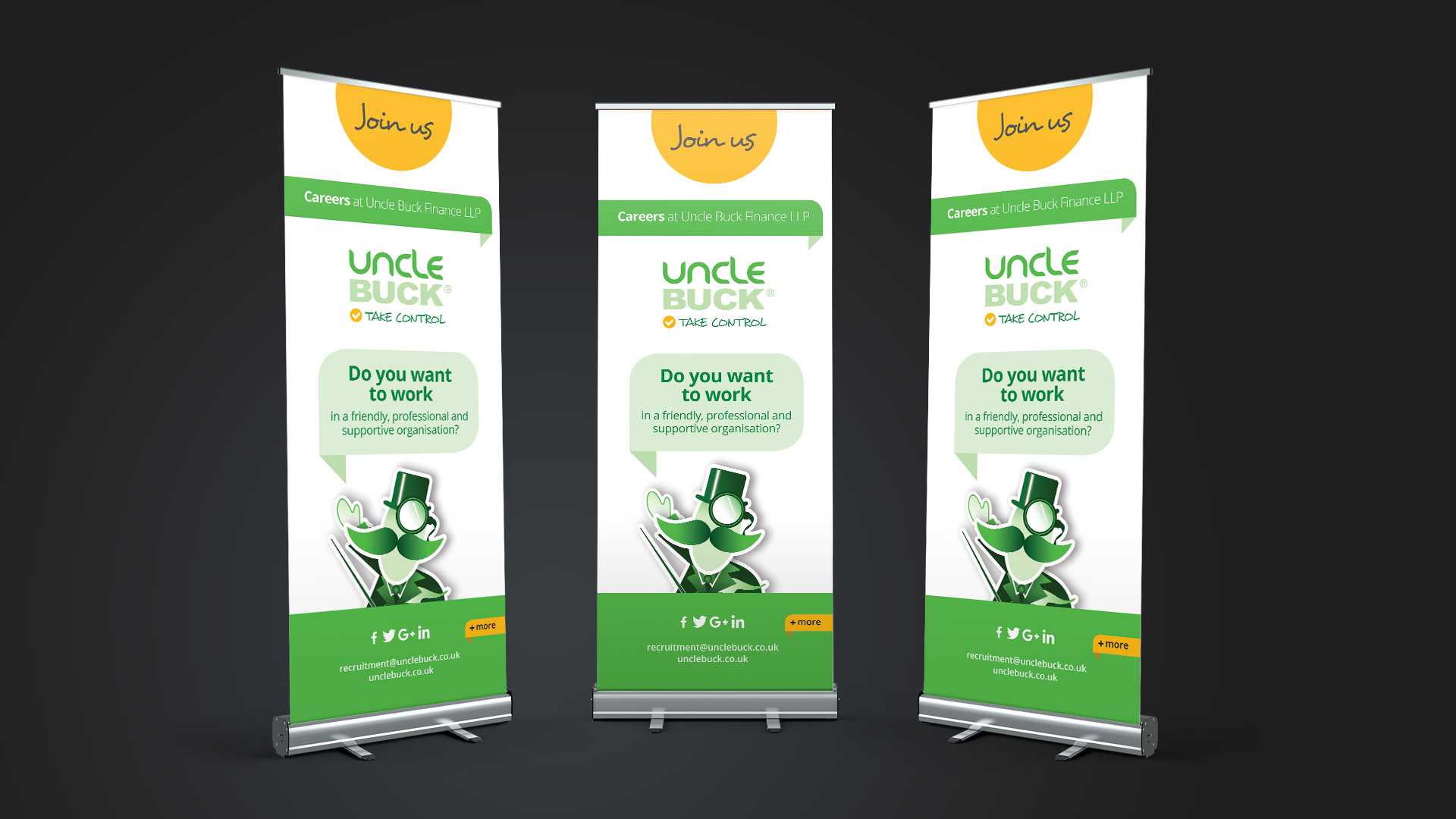 Roll up banner design and print